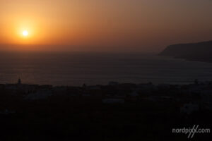 Mancona - Sonnenaufgang am Meer