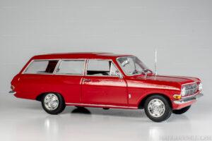 Opel Rekord A, CarAVan, Kombi