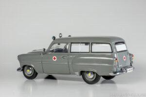 Opel Olympia Rekord, CarAVan, Kombi, Krankenwagen