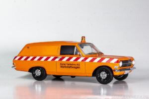 Opel Rekord A Lieferwagen, Kastenwagen