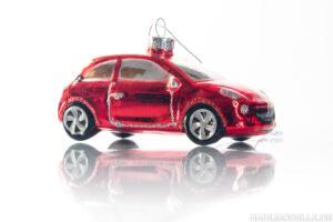 Opel Adam als Weihnachtsbaum-Schmuck